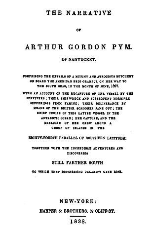 """Arthur Pym"" 1838"