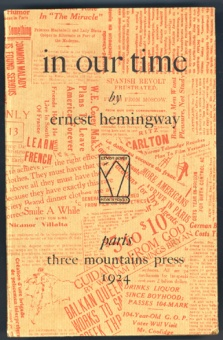 """""""In Our Time"""" 1924"""