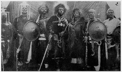Menelik and his chiefs