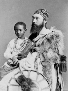 NPG Ax30351; Prince (Dejatch) Alamayou of Abyssinia (Prince Alemayehu Tewodros of Ethiopia); Tristram Charles Sawyer Speedy by (Cornelius) Jabez Hughes